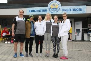 Holger mit natalie, Leona, Domi, Jasmin und Susi in Sindelfingen