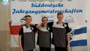 Karl, Finia und Björn in Ingolstadt